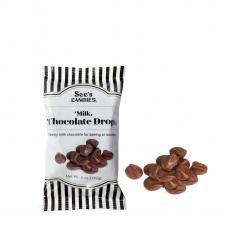 [35%할인]밀크 초콜릿 드랍 [베이킹용 쿠키 간식 핫초코 초콜릿 만들기]